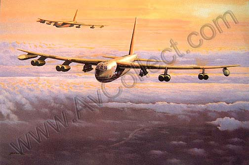 """Lone Star Lady"" B-52  by Philip E West"